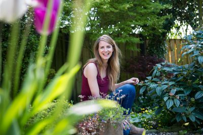 Katie Rushworth of ITVs Love Your Garden on growing herbs in your garden