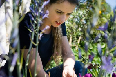 TV gardener Katie Rushworth