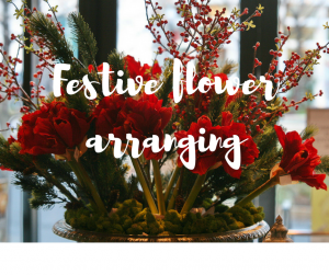 Festive flower arranging, a Christmas blog with tutorials by gardener Katie Rushworth