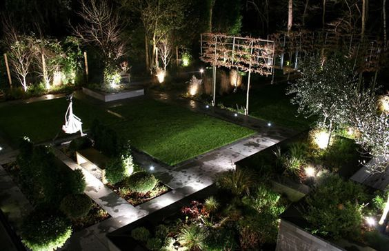 Effective lighting can give your garden a new lease of life