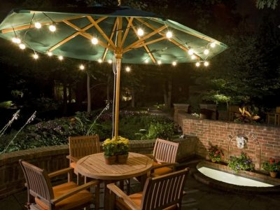 Get creative with solar fairy lights in your garden