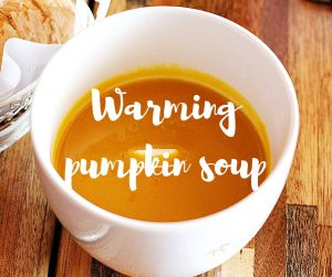 Warming pumpkin soup: a Halloween recipe from ITV's Katie Rushworth