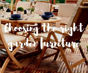 Choosing the right garden furniture, an article from TV gardener Katie Rushworth
